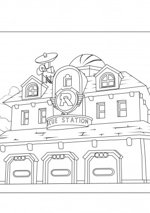 Станция Робокаров спасателей