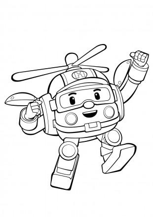 Робокар Хэлли счастлив